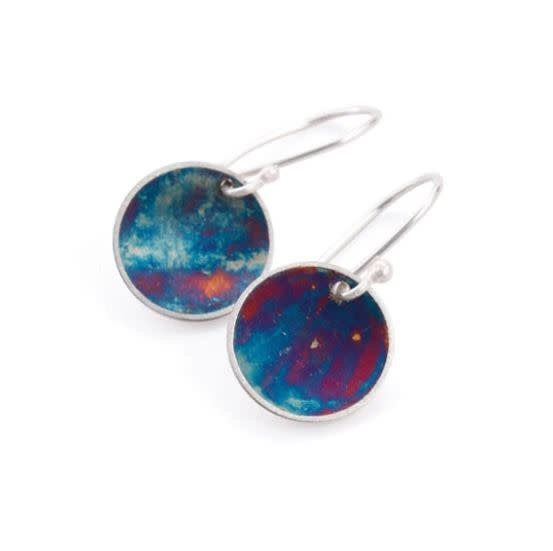 Paprika Design - CCBC Earrings - Oxidized Disc - Small