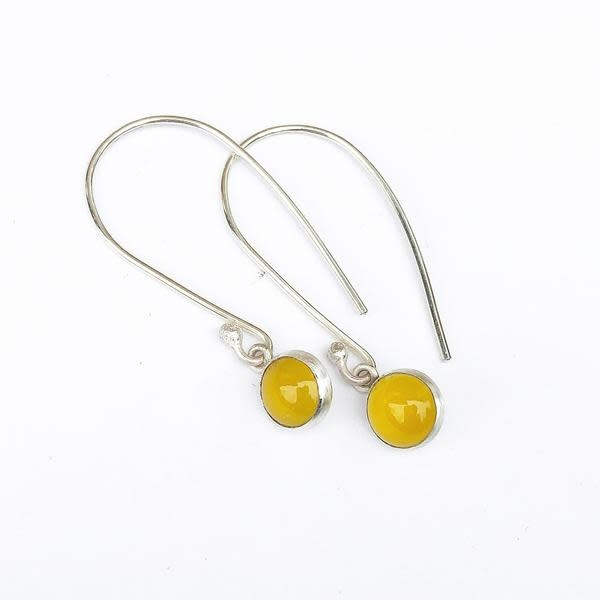 Paprika Design - CCBC Earrings - Yellow Chalcedony Drops