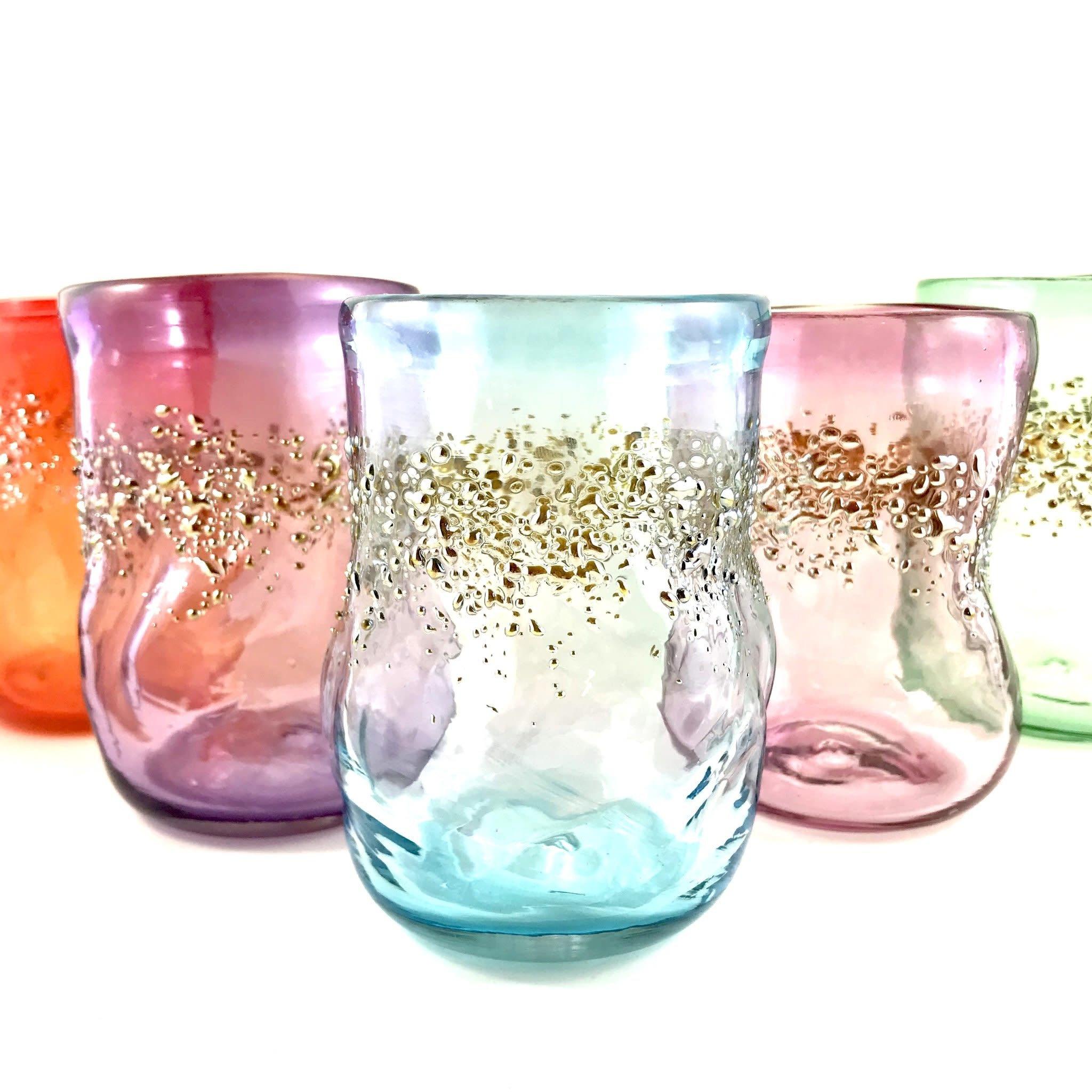 Warthog Glassworks - Ted Jolda Glitter Party Glass