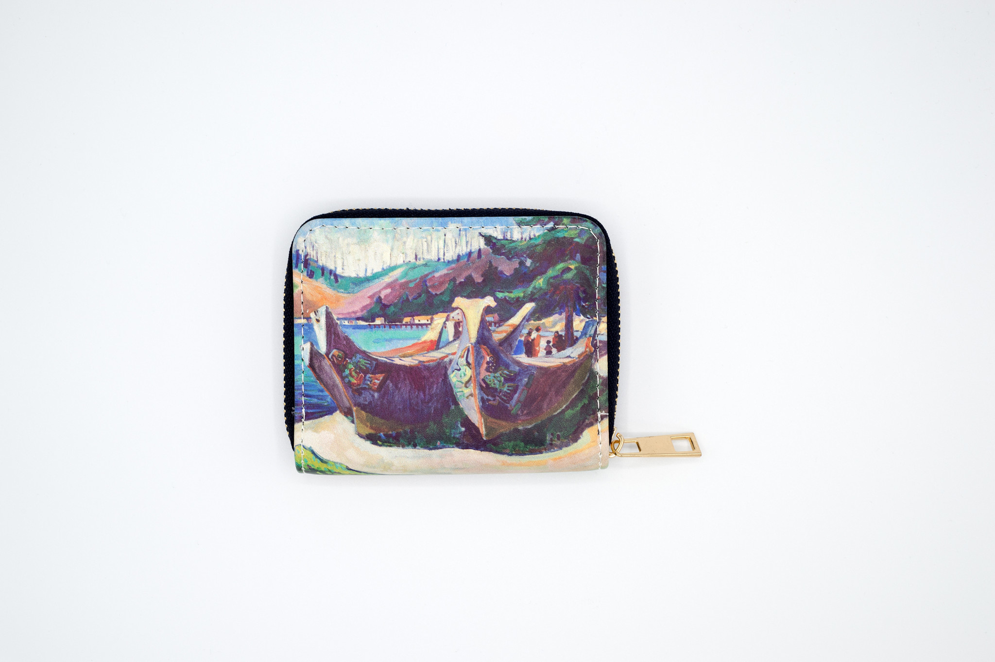 AAM Collection Wallet - Emily Carr - War Canoes - Small
