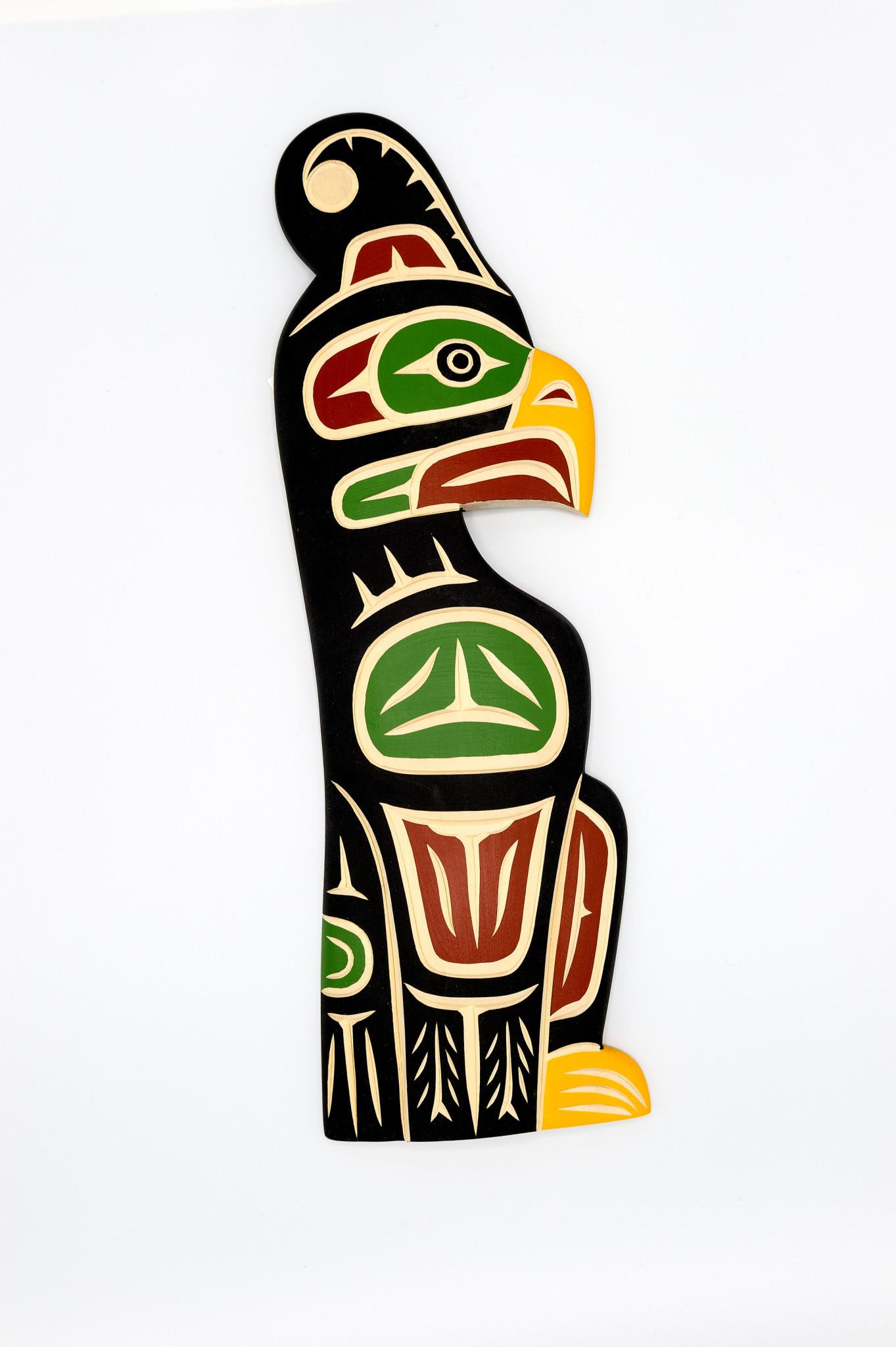 Steve Hoffmann Harvey John - Cedar Carving - Thunderbird