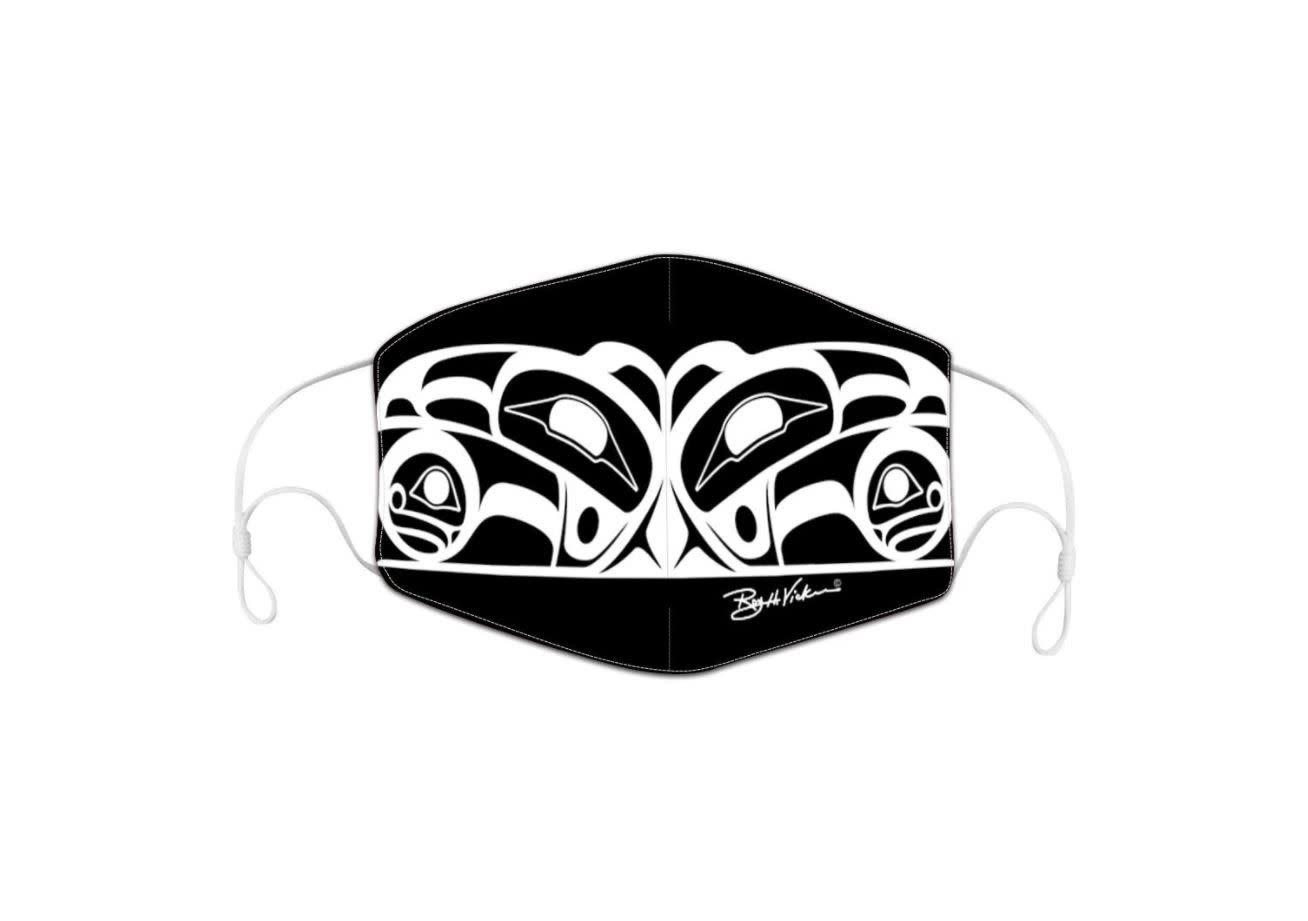 Face Mask - Raven