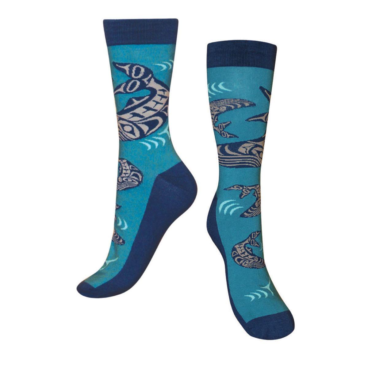 Art Socks - Humpback Whales