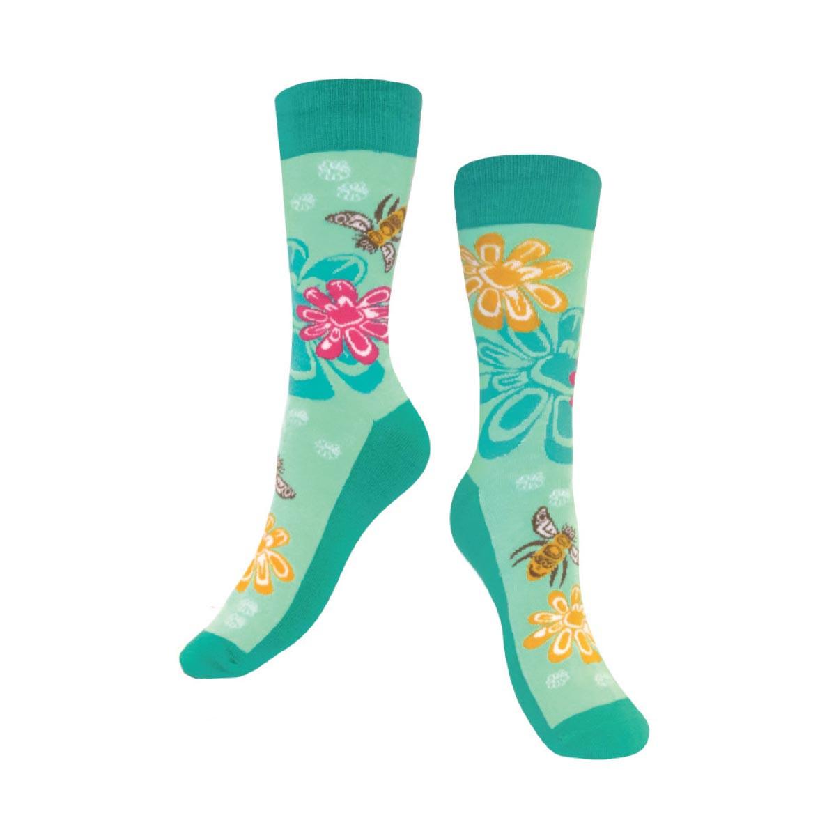 Art Socks - Bee & Blossoms