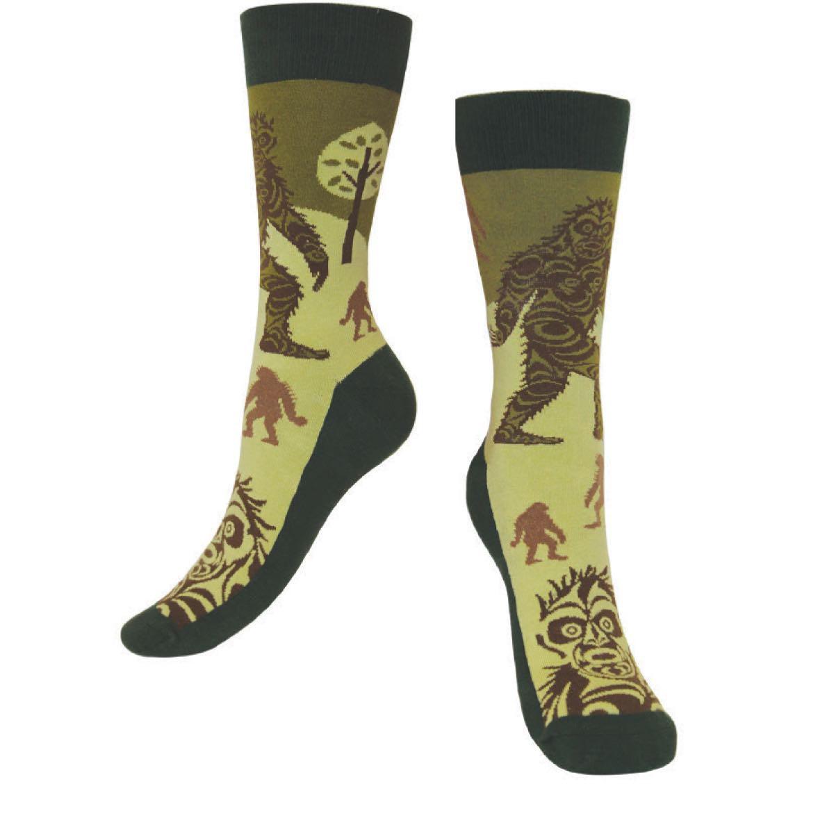 Art Socks - Sasquatch