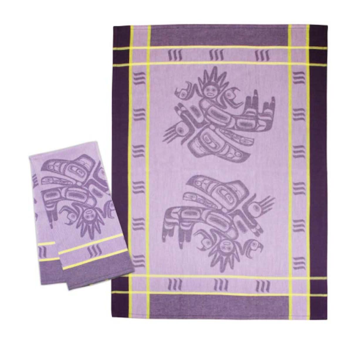 Tea Towel - Running Raven