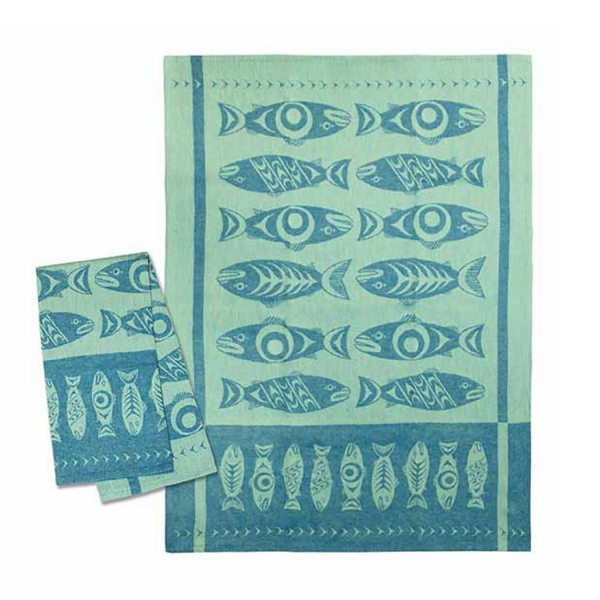 Tea Towel - Salmon in the Wild