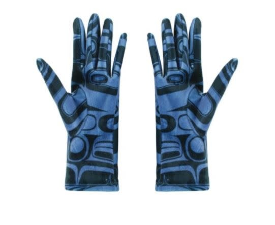 Gloves - Raven Blue