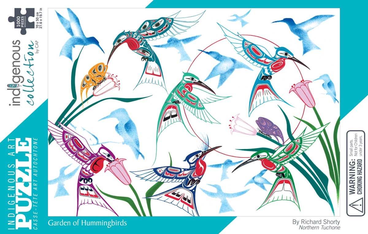Puzzle - Garden of Hummingbirds