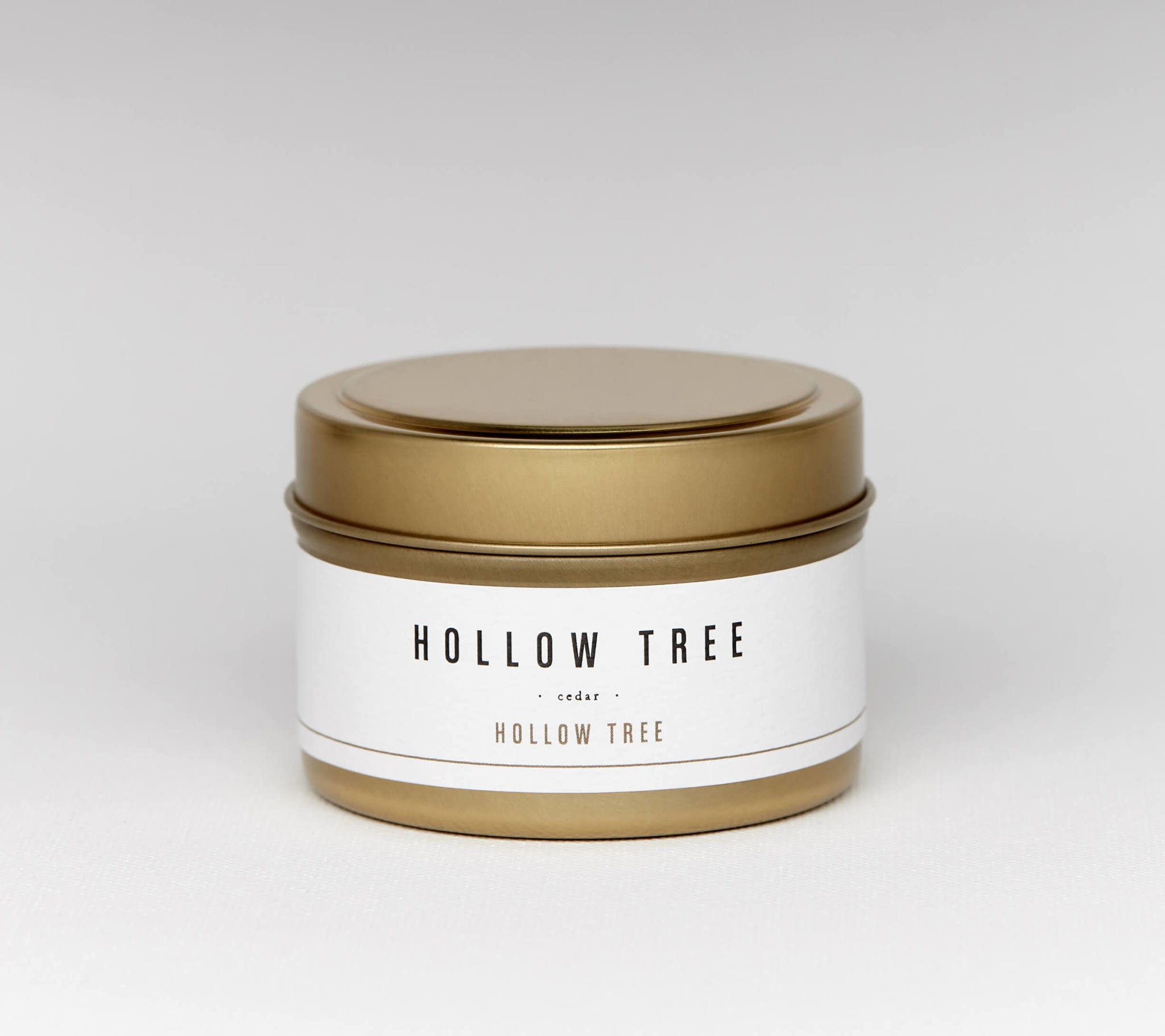 Travel Candle Hollow Tree