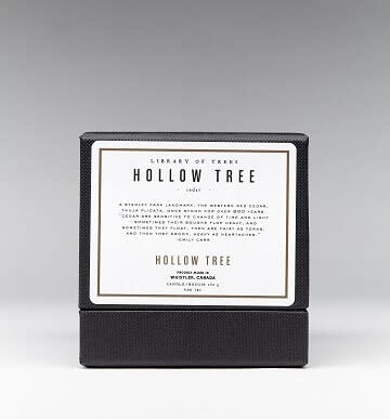 Candle Hollow Tree