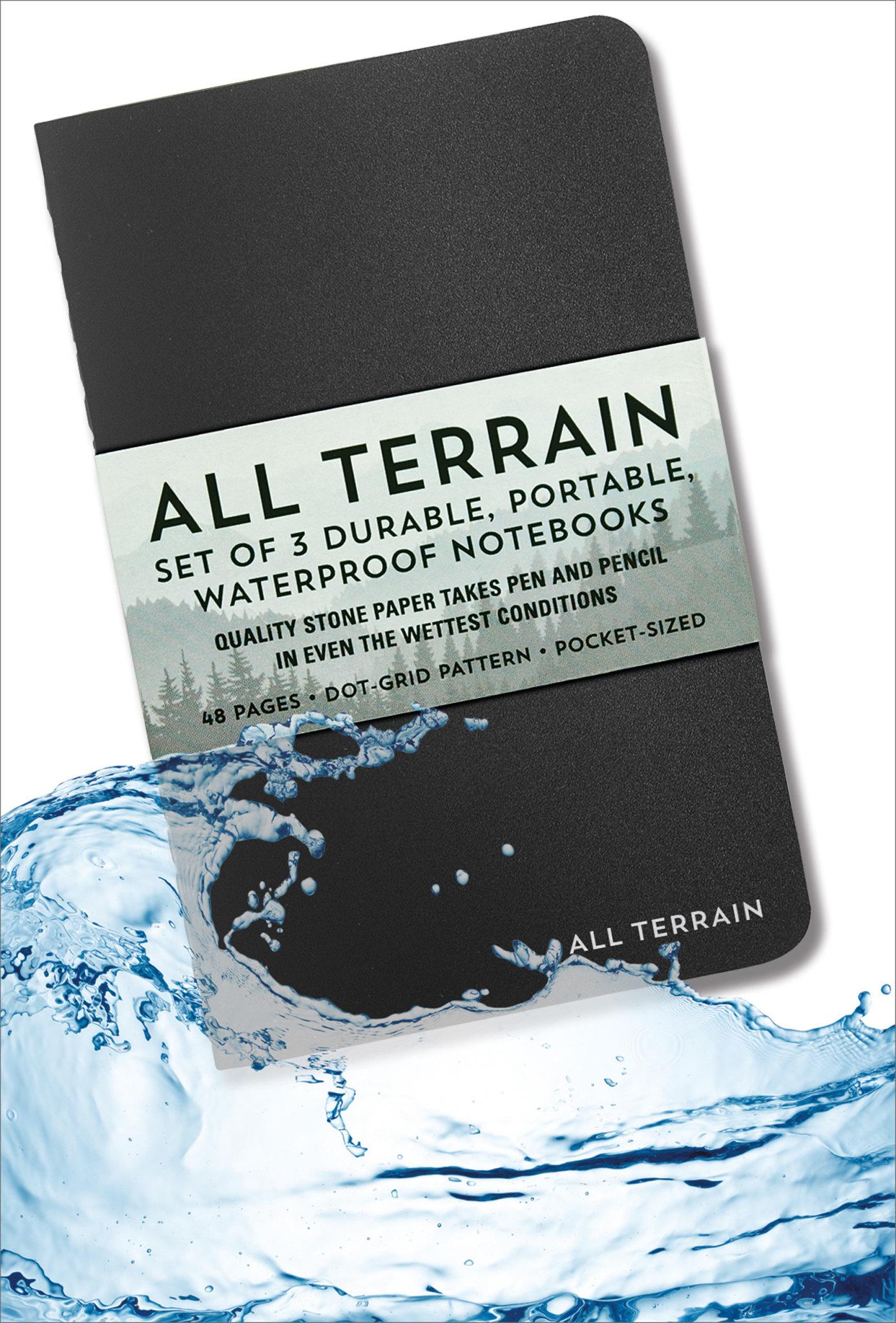All Terrain Waterproof Notebooks Set of 3