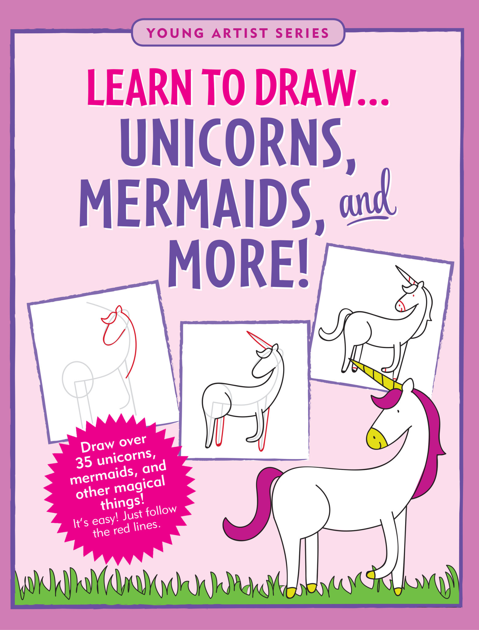 Learn to Draw Unicorns, Mermaids & More