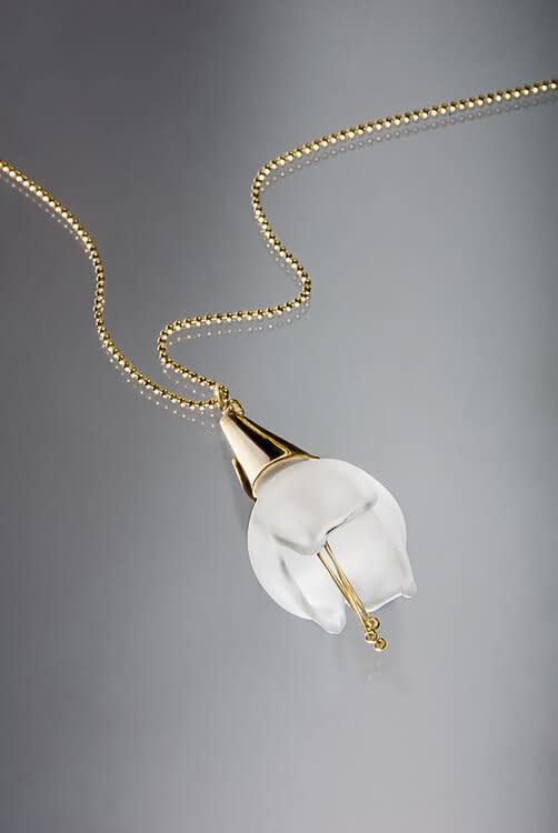 Minori Takagi Necklace - Glass Lily