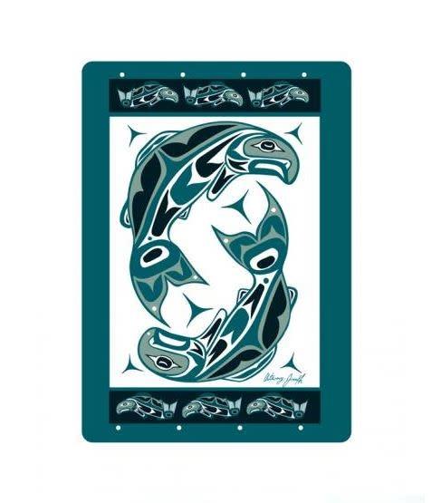 Playing Cards Anthony Joseph - Salmon