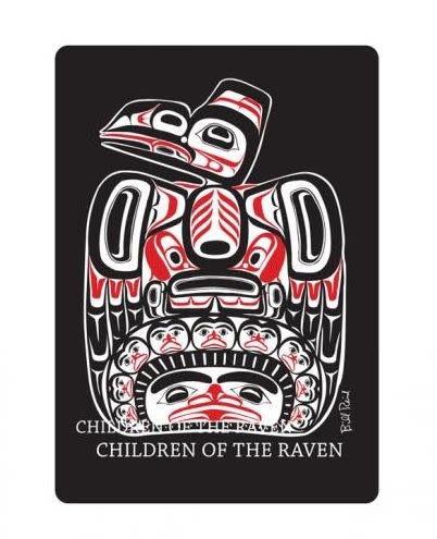 Playing Cards Bill Reid - Raven