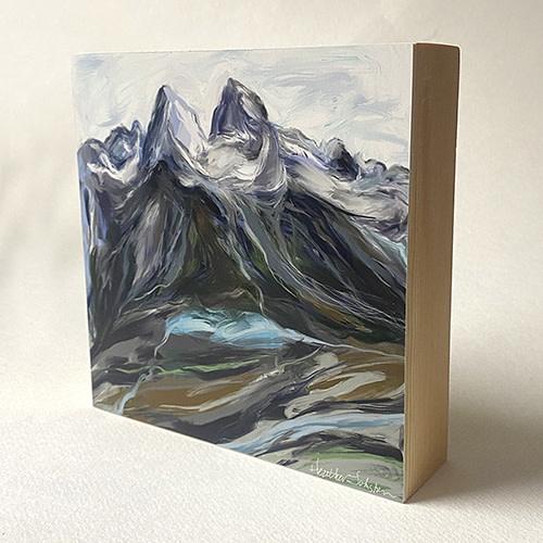 Heather Johnston Art Block -  Mountain Watershed Whistler