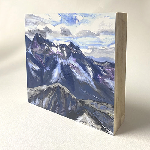 Heather Johnston Art Block -  Room with a View Whistler