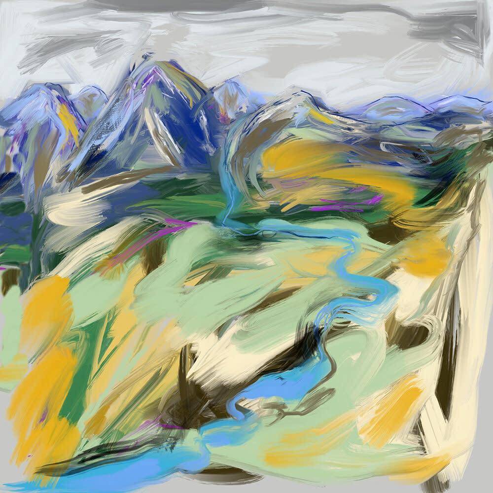 Heather Johnston Art Block -  Stormy Afternoon