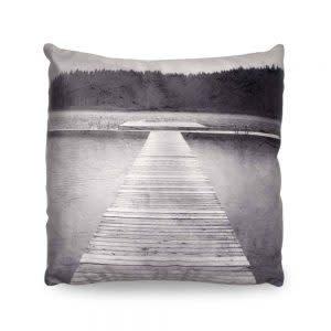 Heather Johnston Pillow - Lost Lake Dock