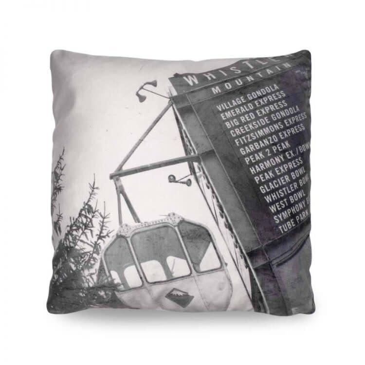 Heather Johnston Pillow - Vintage Gondola