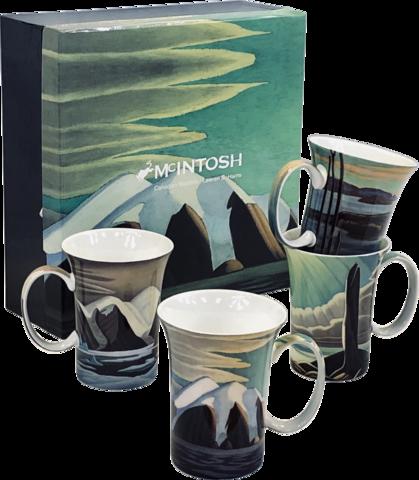 Set of 4 Mugs Lawren Harris