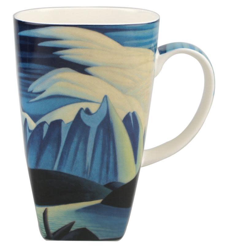 Grande Mug Lawren Harris - Lake & Mountains