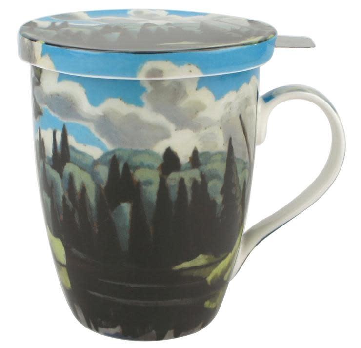 Tea Mug - Lake in Algonquin Park - Lawren Harris