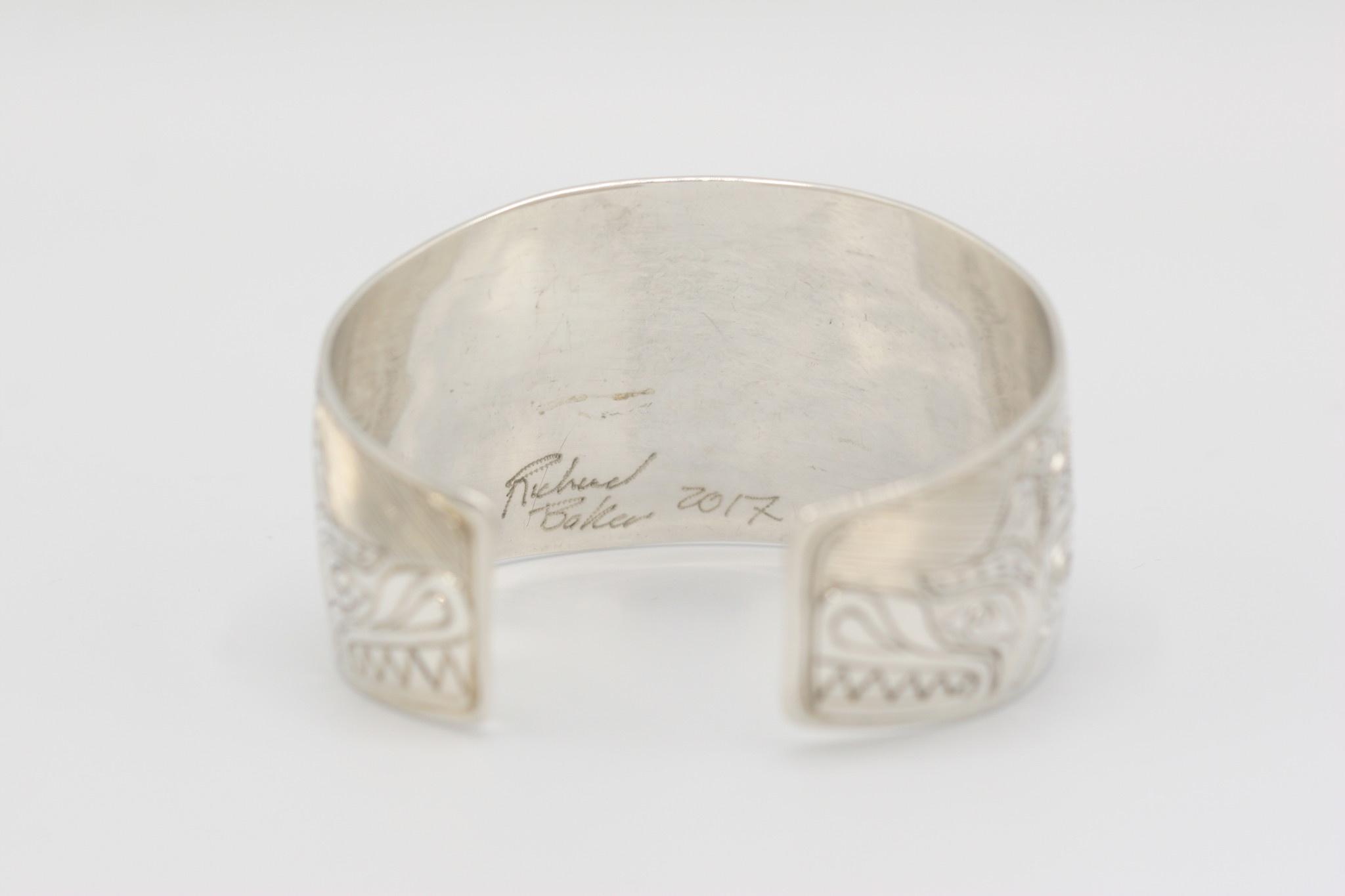 """Richard Baker - Bracelet 1.5"""" Sisiutl"""