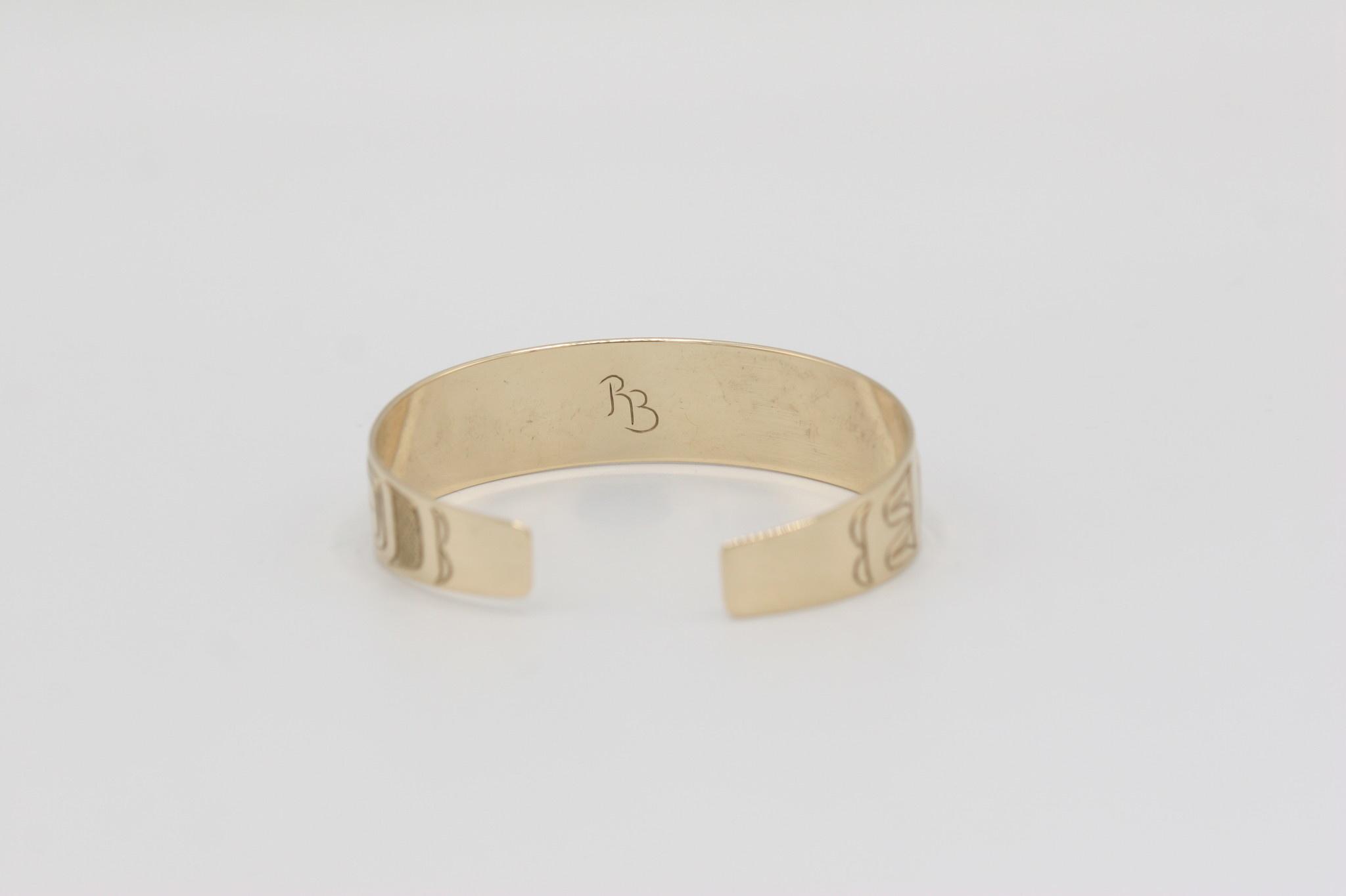 Richard Baker - Bracelet 14K Gold - Raven