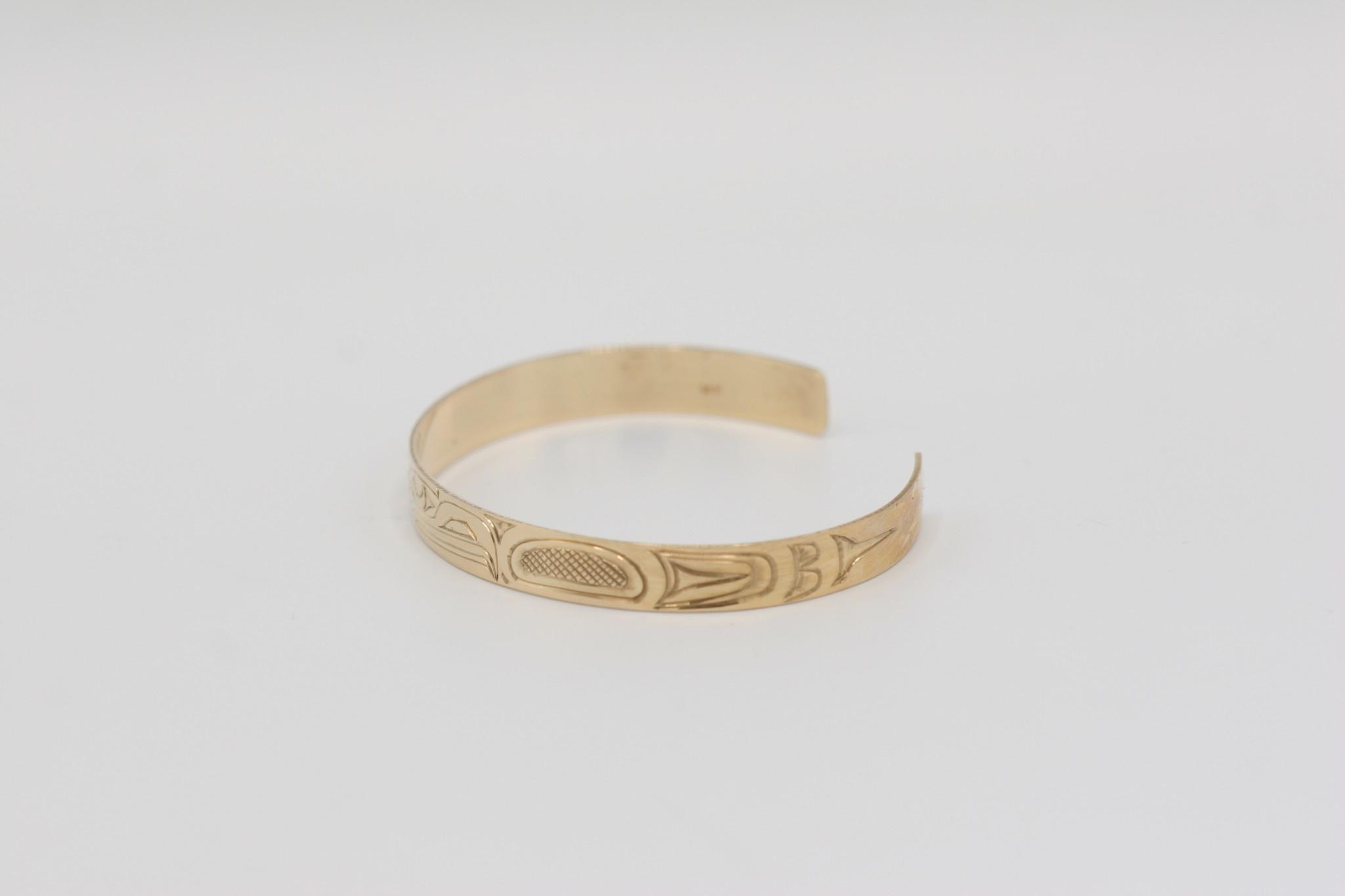 """Richard Baker - Bracelet 1/4"""" 14K Gold"""