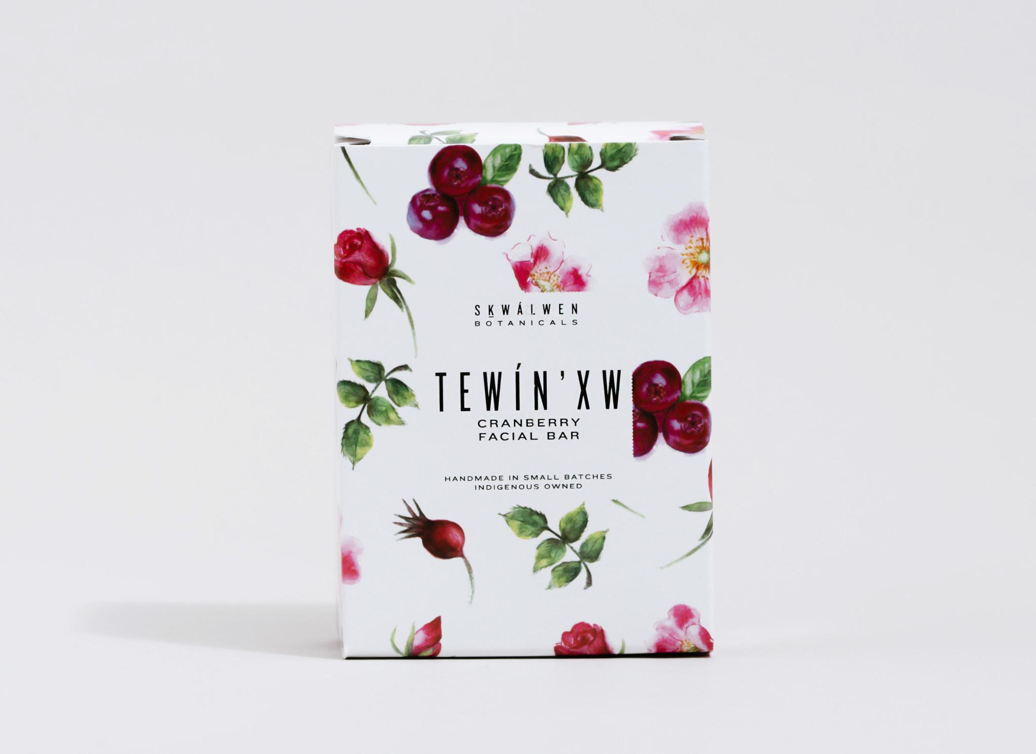 TEWÍN'XW Cranberry Facial Bar