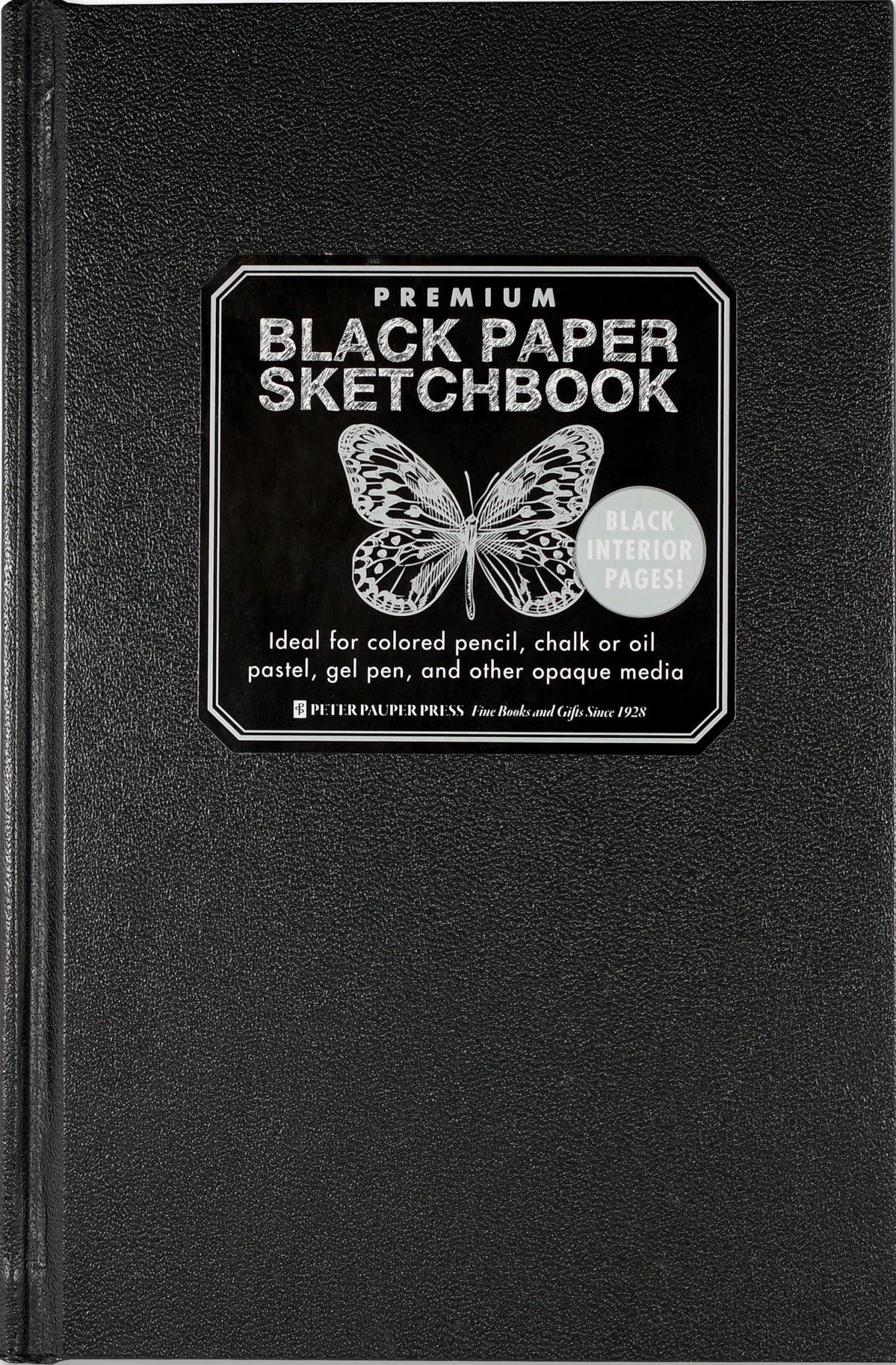 Premium Black Paper Sketchbook