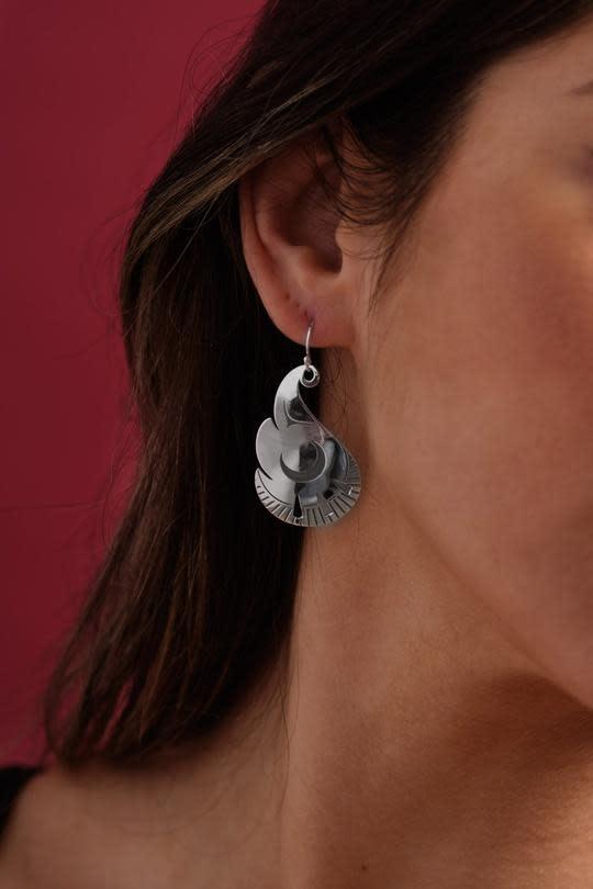 John Velten Earrings - Element: Fire