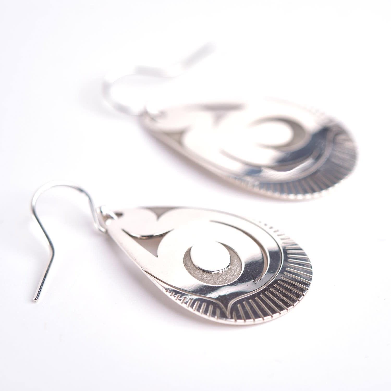 John Velten Earrings - Element: Water