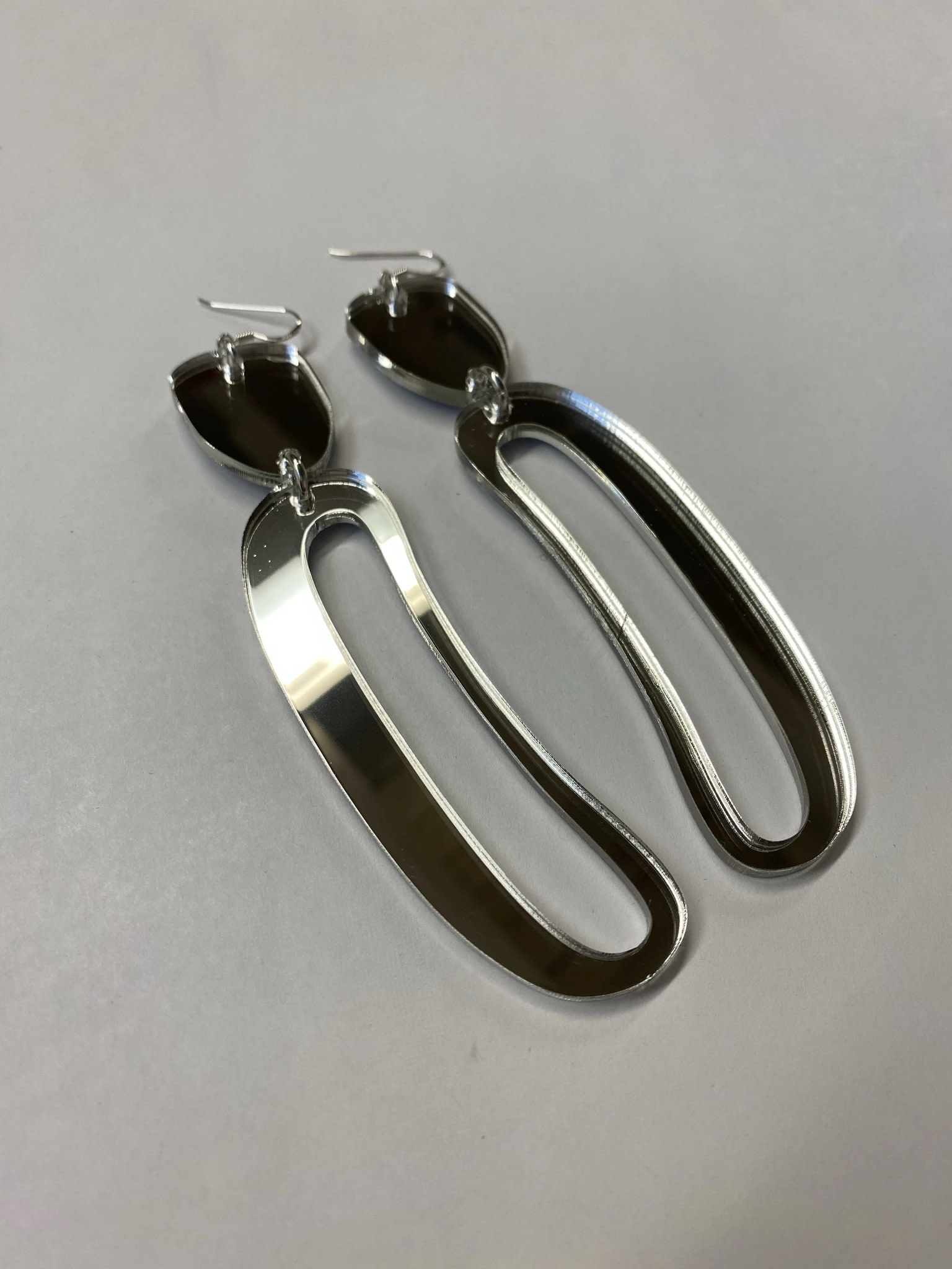 Earrings - Elongated Ovoids