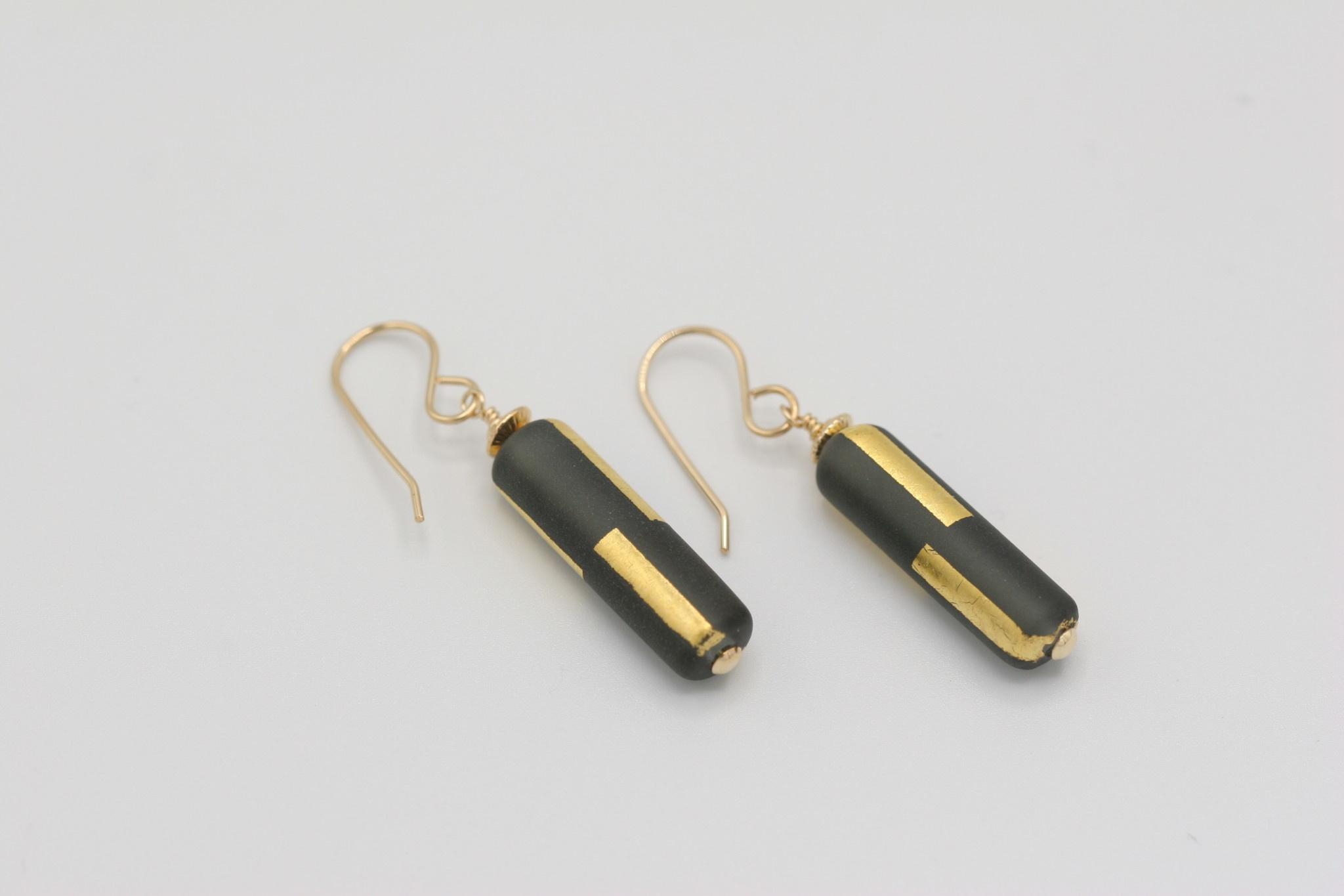 Minori Takagi Earrings - Gold Line