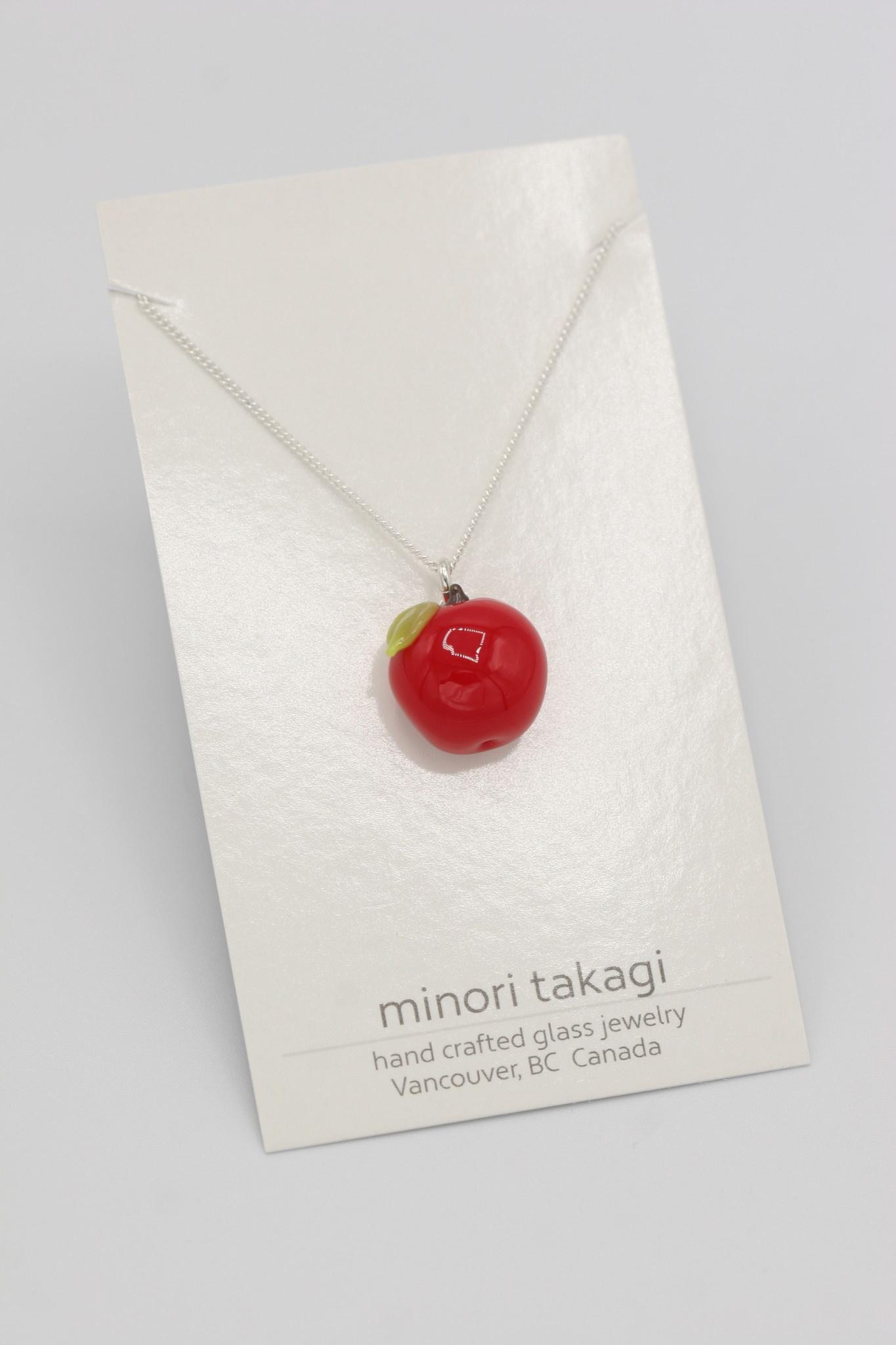 Minori Takagi Necklace - Red Apple