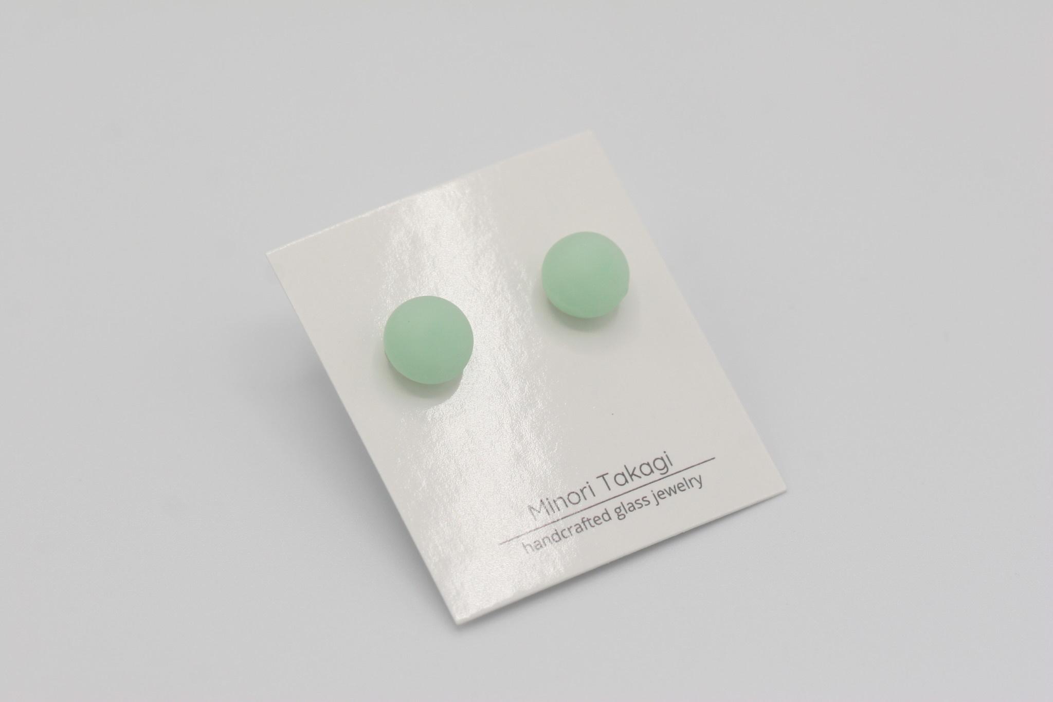 Minori Takagi Earrings - Glass Studs