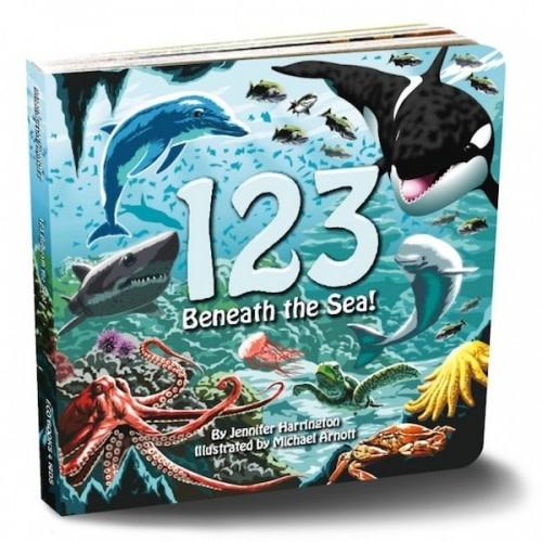 Eco Books 4 Kids - Jennifer Harrington 123 Beneath the Sea