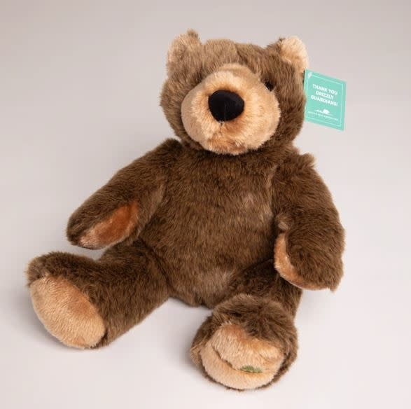 Grizzly Bear Foundation Grizzly Guardian Plush