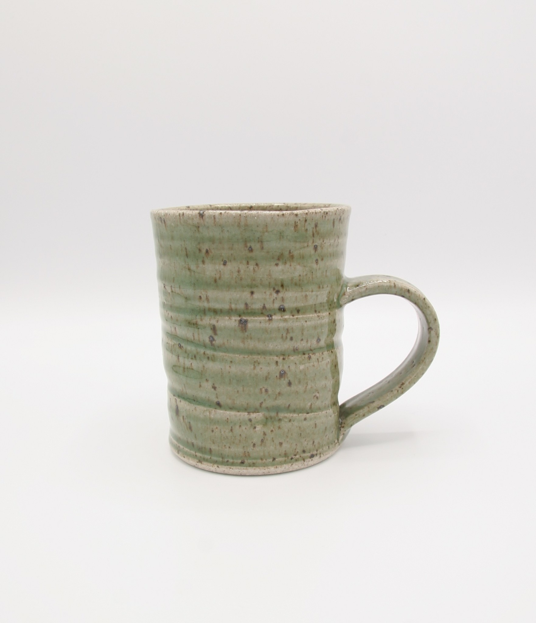 Dave Dobie Mug - Gas Fired - Light Green