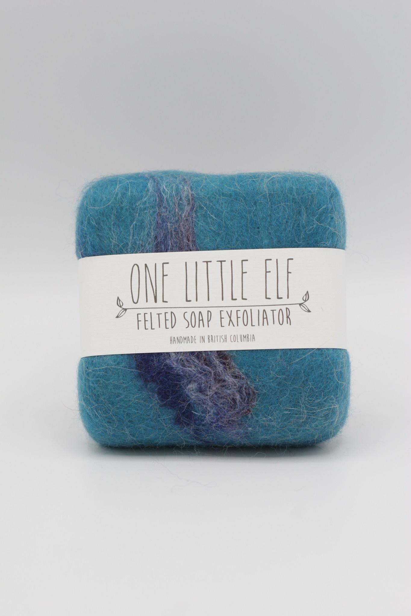 One Little Elf - Nissa Hildebrand Lemongrass Scented Felted Soap