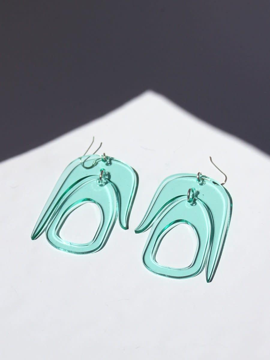 Earrings - Salish Chandelier