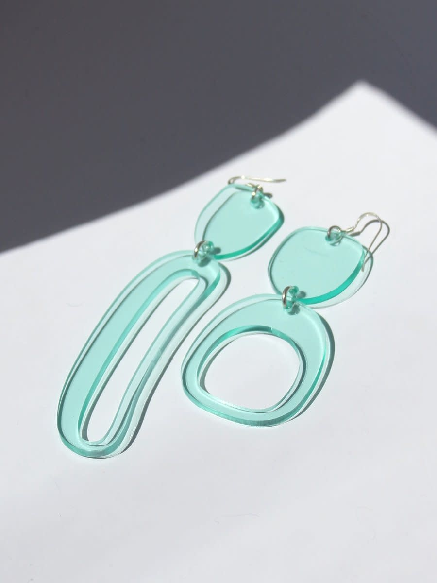 Earrings - Mixed Ovoids