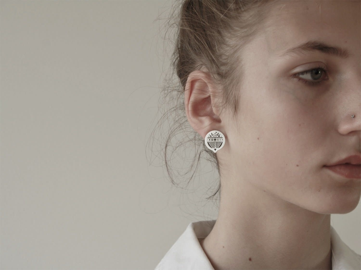 VEDRO Creative Earrings - Luna Cilclo