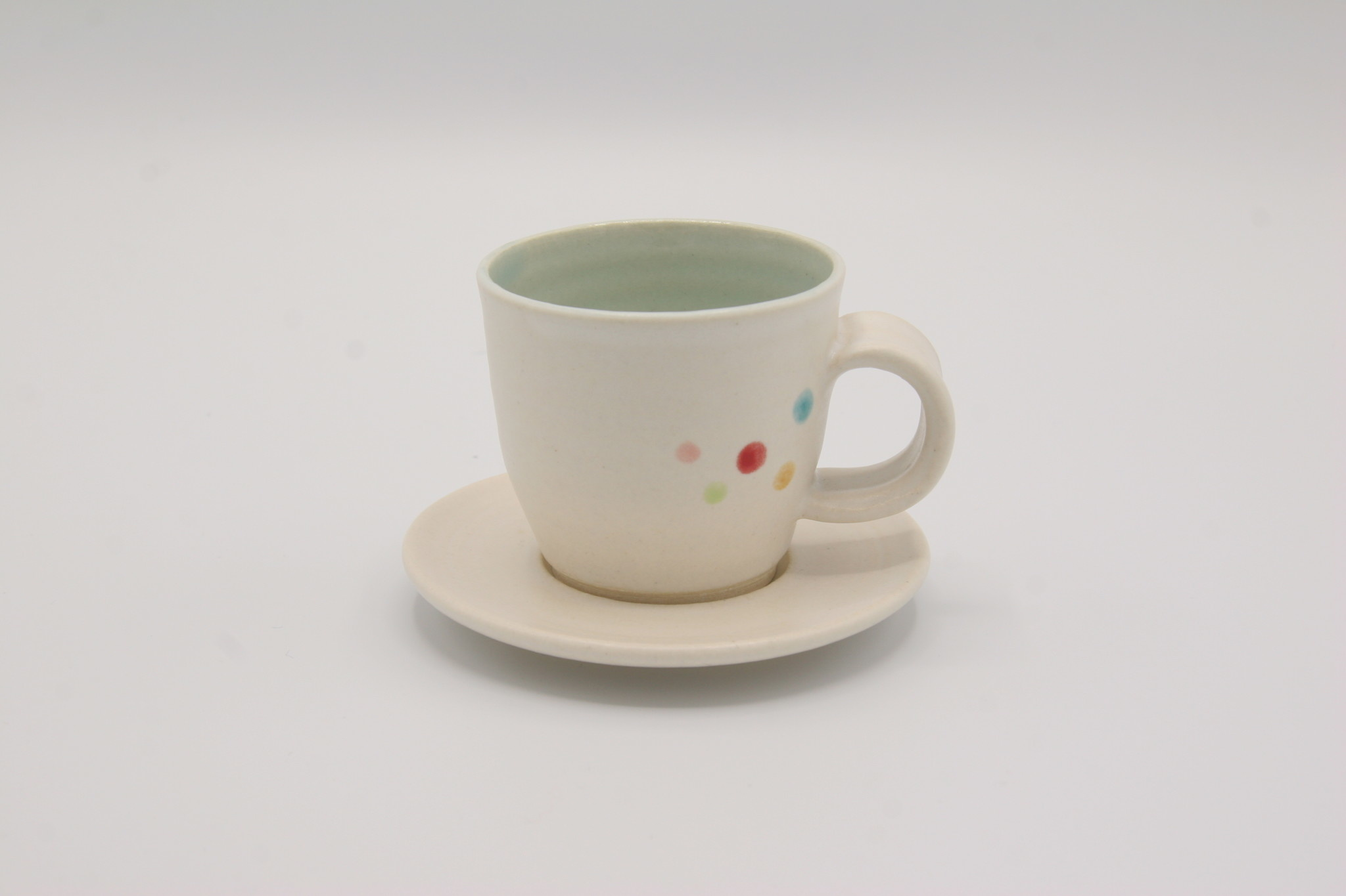 Carolyn DiPasquale - CCBC Espresso Cup & Saucer - Dotted