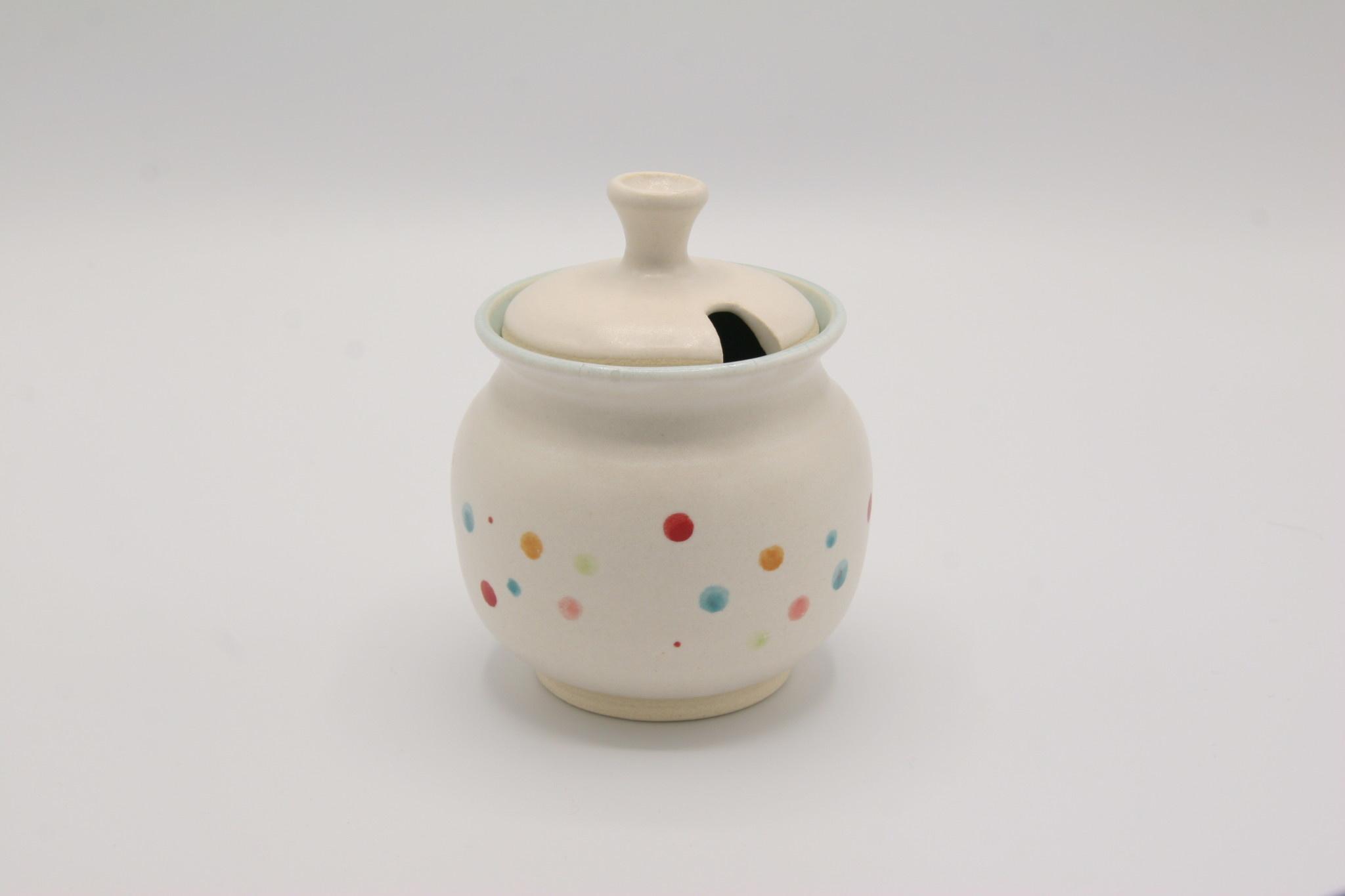Carolyn DiPasquale - CCBC Honey/Jam Pot - Dotted