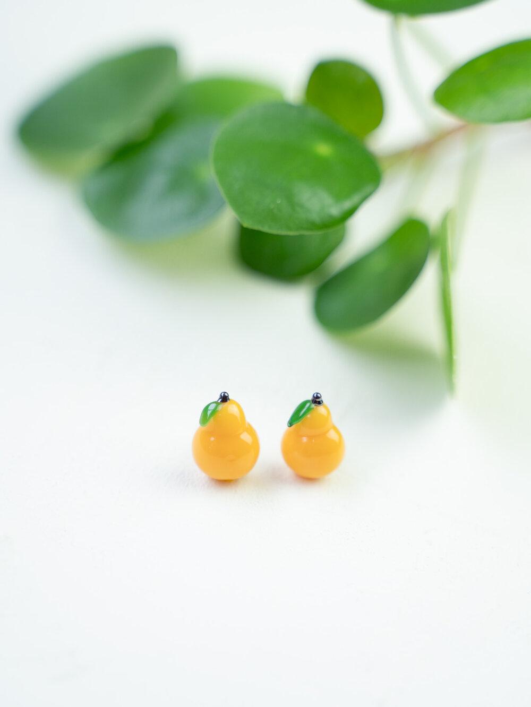 Minori Takagi Earrings - Pear