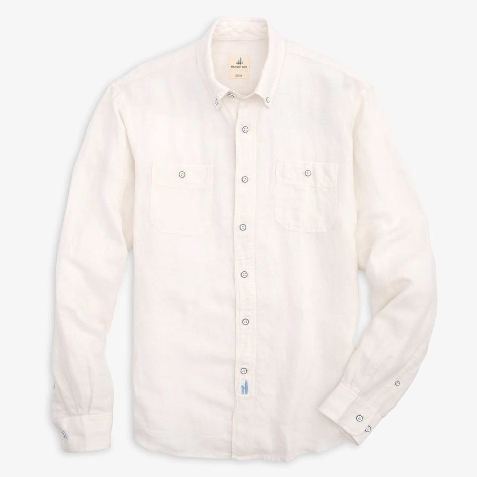 JOHNNIE-O Johnnie-O JMWL5210 Bertie Performance Linen Button-Up